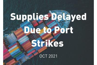 Port strikes will cause delays nationwide