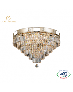 GOLDSURE2162 9 Lights Chandelier D600xH460 K9