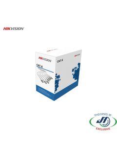 Hikvision 305m CAT6 UTP Network Cable Blue