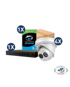 HiLook Camera + Recorder + Hard Drive Bundle