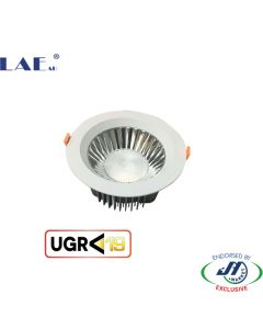 LAE 18W Low Glare Commercial Shop Downlight - 130mm
