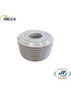 MECCA Flexible Corrugated Conduit 25mm HD Grey 50M (Solar)