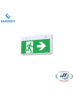 Emerex Wall&Ceiling Quick Fit Exit Light