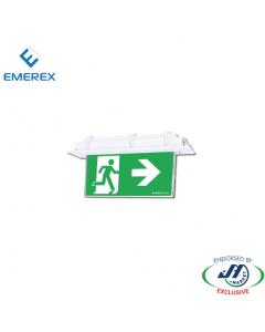 Emerex Recessed Blade Exit Light