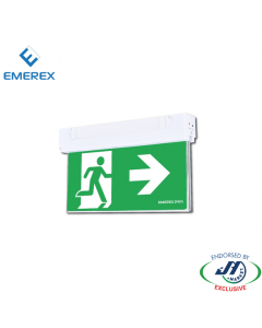 Emerex Wall&Ceiling Blade Exit Light