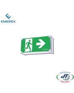 Emerex Weatherproof  Wall Box Emergency Exit Light Right Arrow