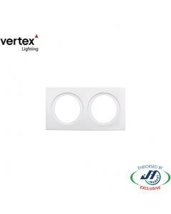 Vertex Double Grille White