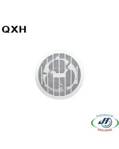 QXH 200mm Flush Mounted Ceiling Exhaust Fan White