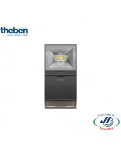 Theben 10W Spotlight With Motion Detector 4000K Black