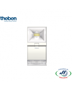 Theben 10W Spotlight With Motion Detector 3000K White