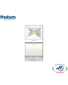 Theben 10W Spotlight With Motion Detector 4000K White