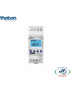 Theben Digital Timer Switch. Din Rail Mounted