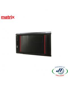 Matrix 6RU 350mm Deep Wall Mount Cabinet 600x350x365