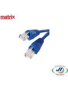 Matrix CAT5E RJ45 Patch Cord 1M Blue