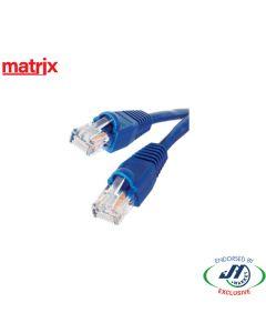 Matrix CAT6 RJ45 Patch Cord 1.2M Blue