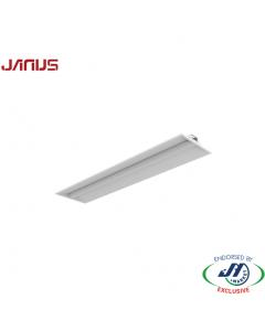 Janus Q33 4ft 40W Arc LED Batten 5000K 1275x325x65