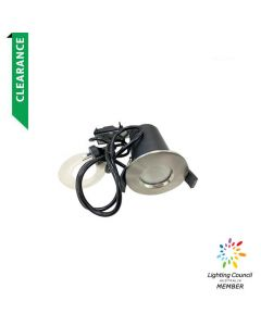Fire Rated 6W Downlight Chrome (1YR Wty)