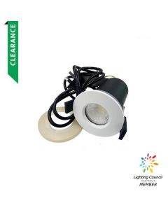 Fire Rated 6W Downlight White 5000K (1YR Wty)