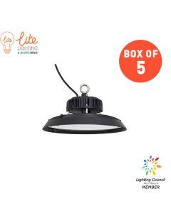 5PCS of LiteLighting 150W LED Highbay V4 5700K 120D