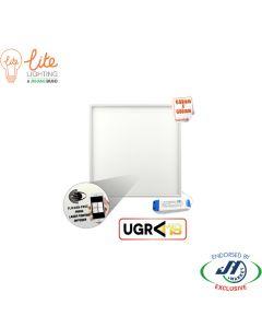 LiteLighting 40W Panel 5000K 6060 Flicker Free & Low UGR