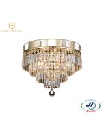 GOLDSURE2162 4 Lights Chandelier D400xH350 EG