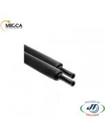 MECCA Heatshrink Thin Wall Glued Tube PRE6.4/AFT2.2 Black 1.22M Pack of 20