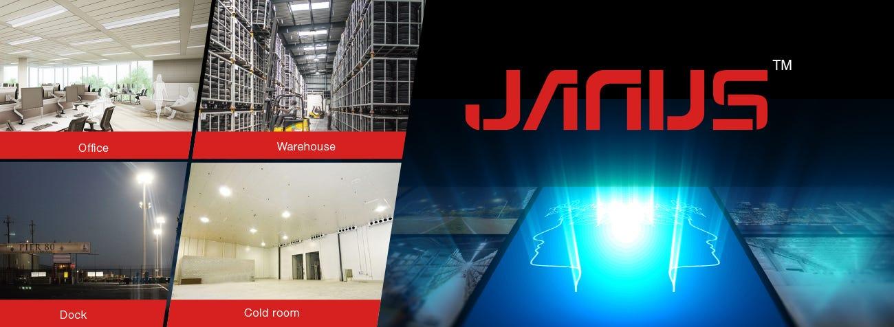 JANUS brand logo
