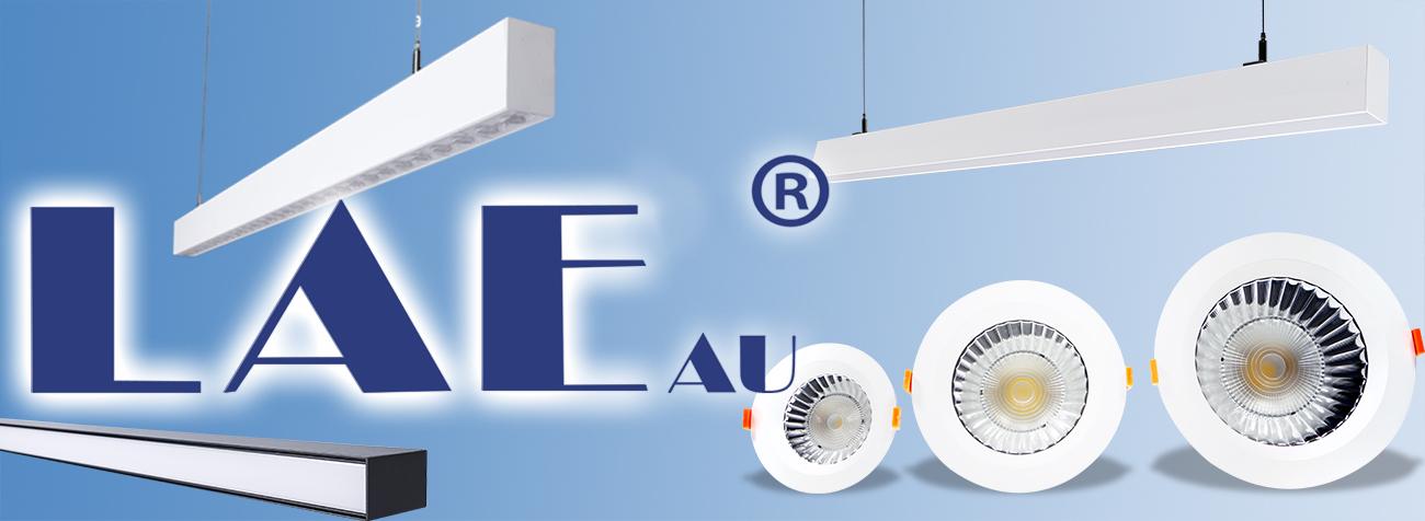 LAE brand logo